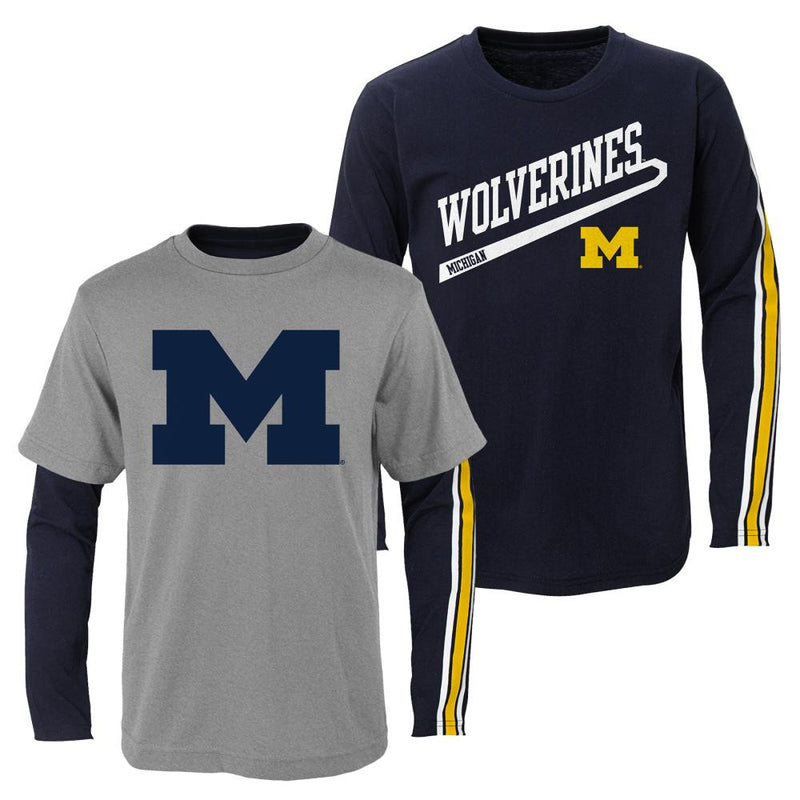 Michigan Fan Toddler T-Shirts Combo Pack