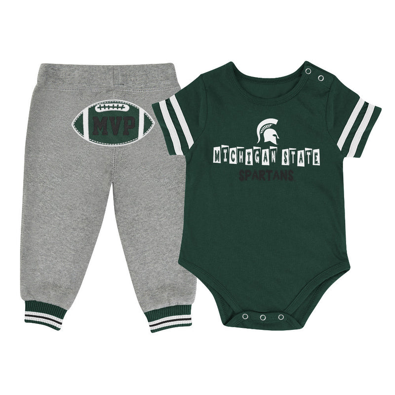Spartans Baby MVP Outfit