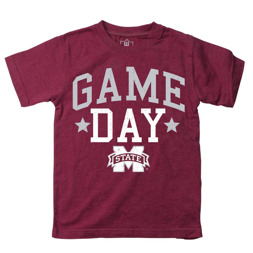 Mississippi State Toddler Game Day Tee