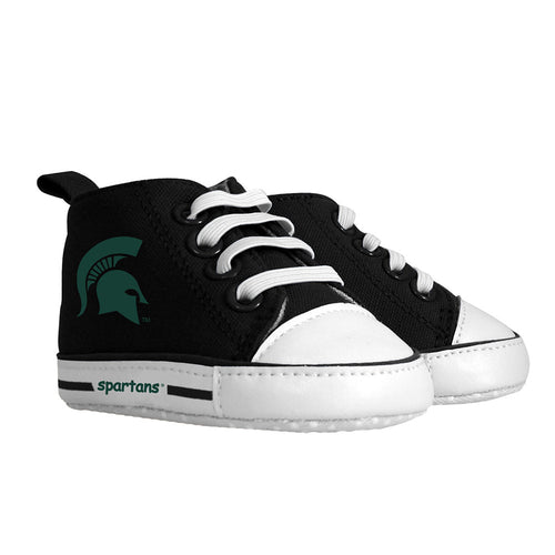 Michigan State Infant Shoes (Prewalk 0-6M)