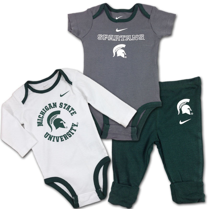 Michigan State Baby Fan Outfits