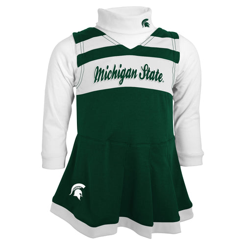 Michigan State Kids Cheerleader Outfit