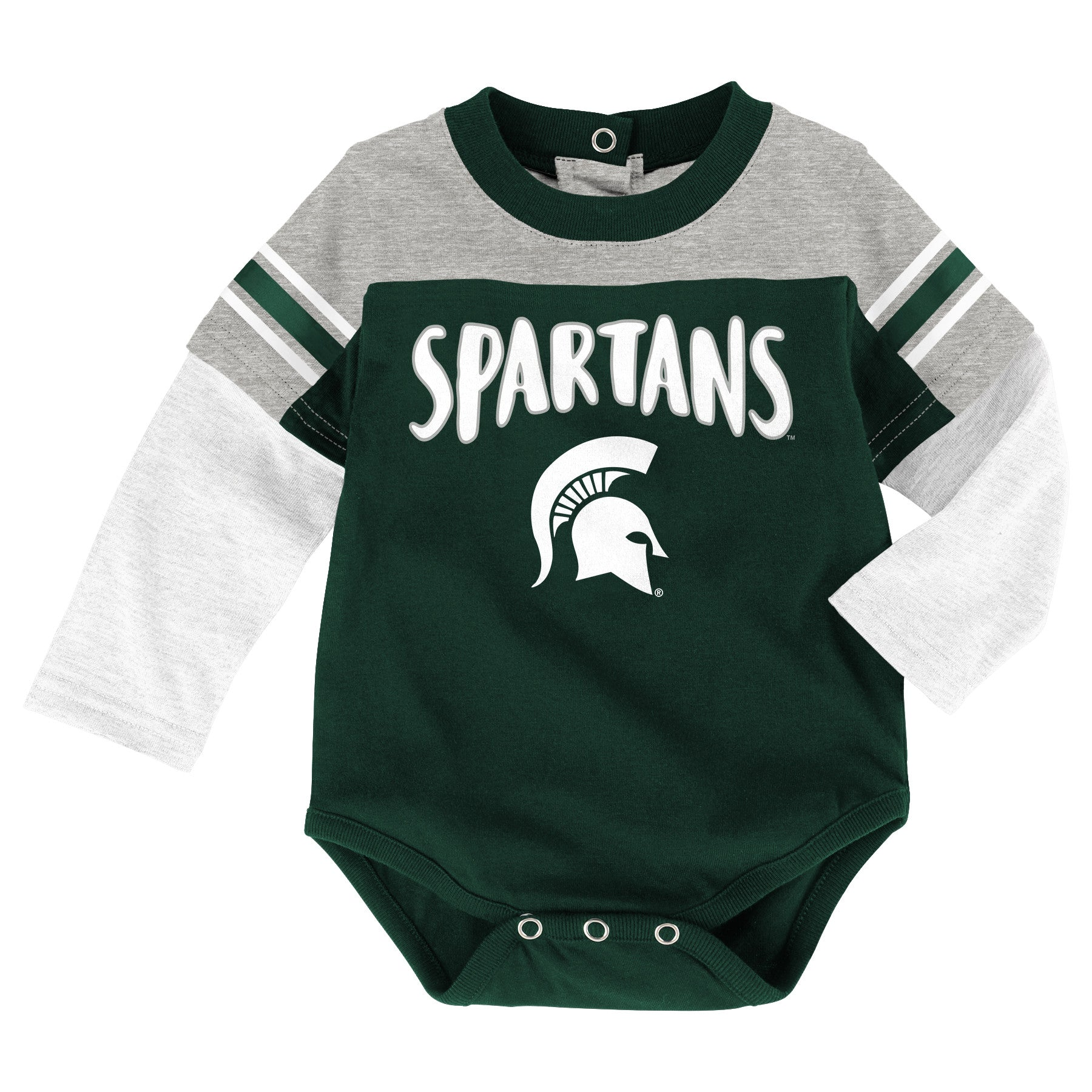 Michigan State Long Sleeve Creeper & Pants Outfit – babyfans