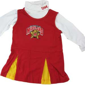 Maryland Toddler Cheerleader Outfit