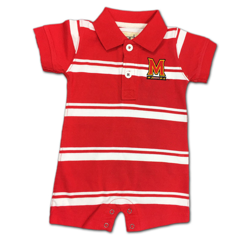 Maryland Golf Shirt Style Romper