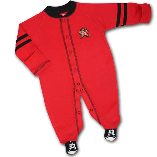 Maryland Sports Shoe Baby Sleeper