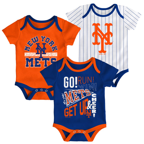 Mets Get Up and Cheer 3 Pack