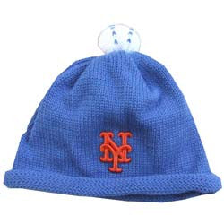 New York Mets Beanie Knit Cap