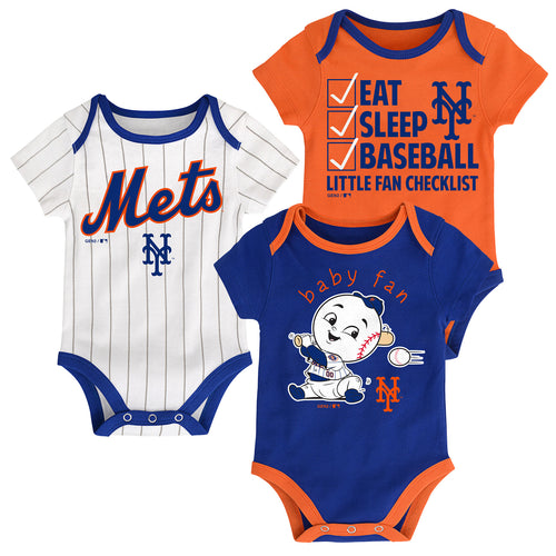 Mets Baby Fan Mascot Creeper Set