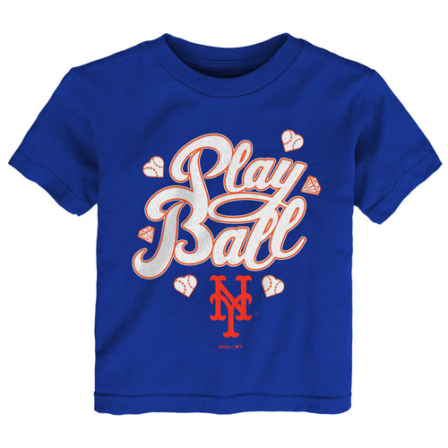 Mets Girl Play Ball Tee