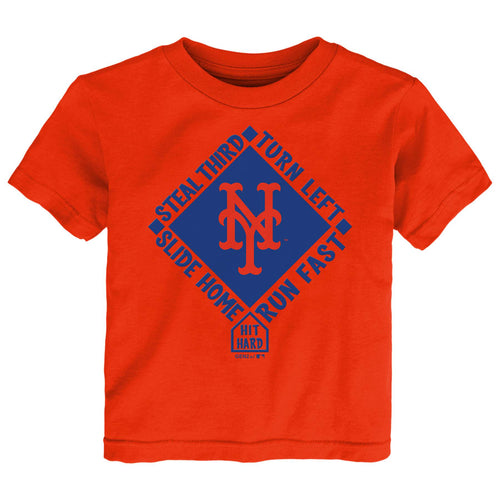 Mets Hit & Run Tee