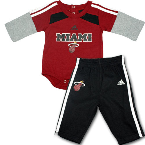 Miami Heat Onesie and Pant Set