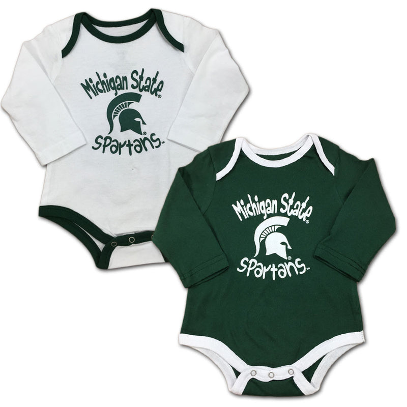Michigan State Fan Bodysuit 2-Pack
