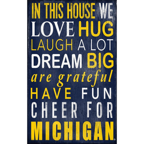 Michigan Baby Nursery Art