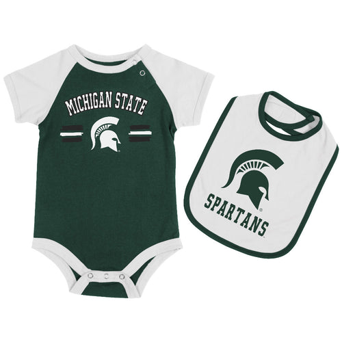 Spartans Baby Bodysuit with Bib