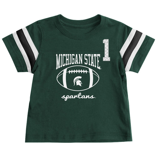Michigan State Spartans Infant Football Tee