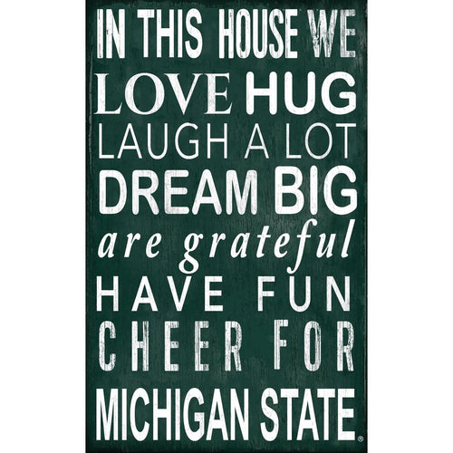 Michigan State Baby Nursery Art
