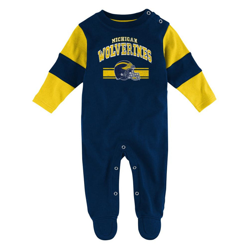 Michigan Newborn Fan Coverall