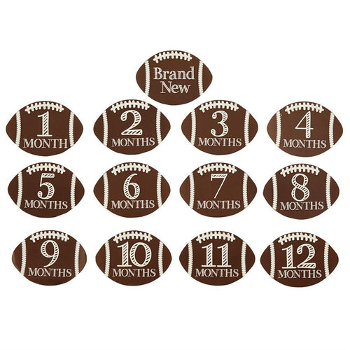 Football Milestone Stickers