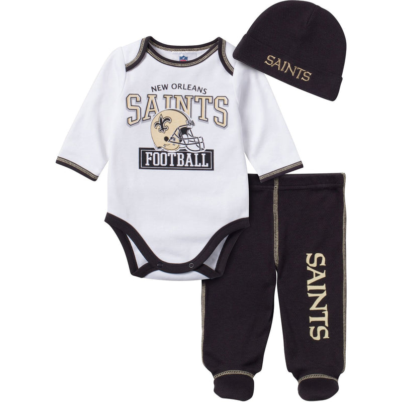 Baby Saints Fan 3 Piece Outfit