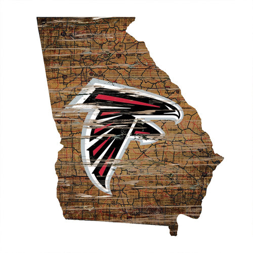 Falcons Room Decor - State Sign
