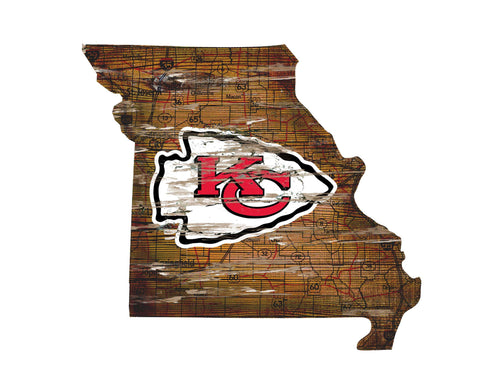 Chiefs Room Decor - State Sign