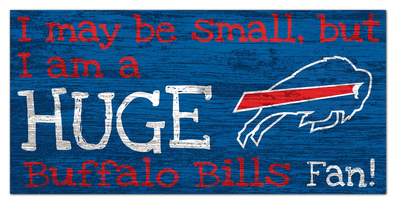 Bills Huge Fan Sign