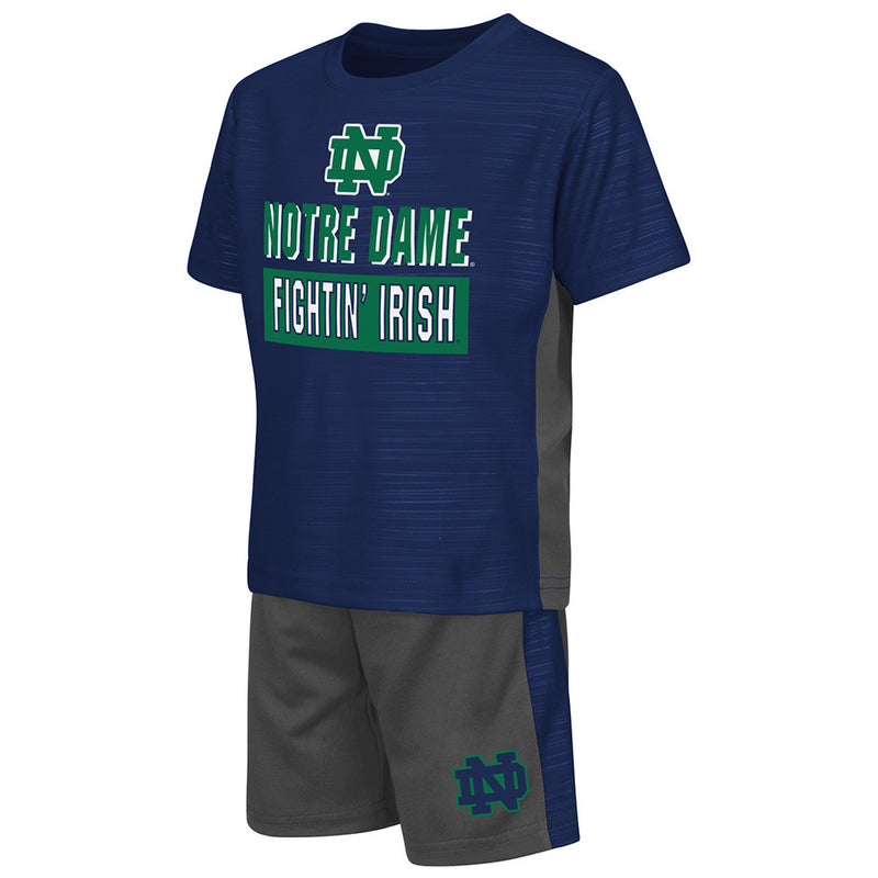 Notre Dame Active Shirt and Shorts Set