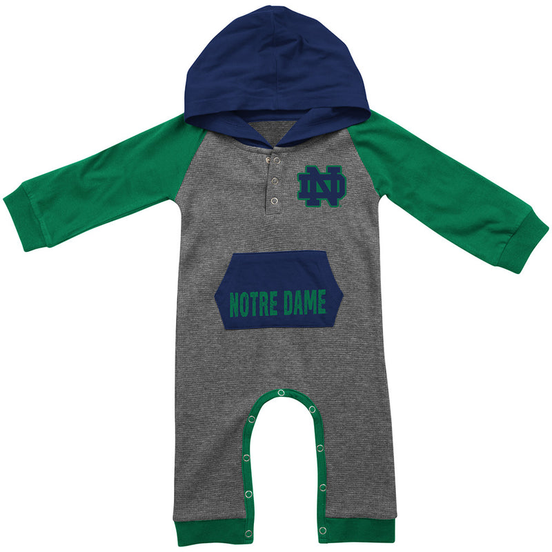 Notre Dame Thermal Hooded Romper
