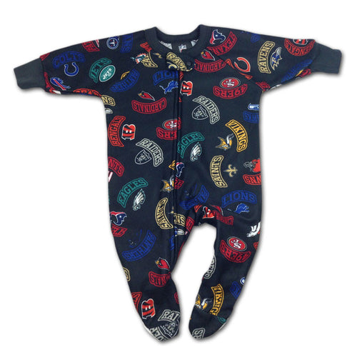 Super Comfy Baby NFL Fleece Blanket Sleeper