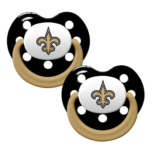 New Orleans Saints Team Colors Pacifiers