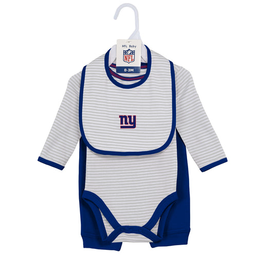 Baby Giants Onesie, Bib and Pant Set