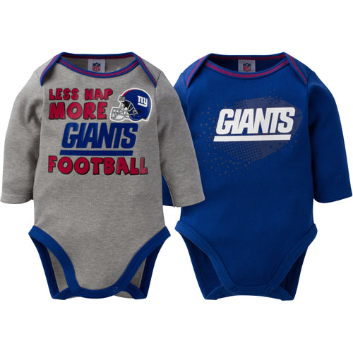 Baby Giants Long Sleeve Onesie Two Pack