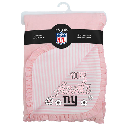 Giants Girl Newborn Baby Blanket