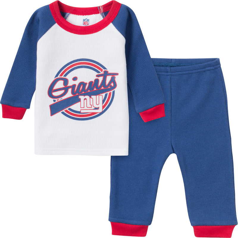 Giants 2 Pc Thermal PJs