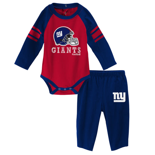 Giants Long Sleeve Bodysuit and Pants Outfit