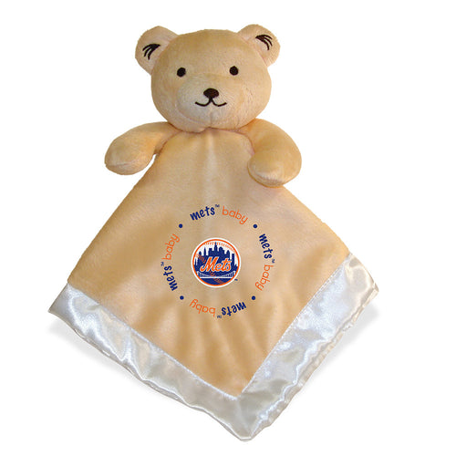 Embroidered Mets Baby Security Blanket