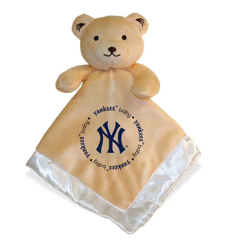Embroidered Yankees Baby Security Blanket