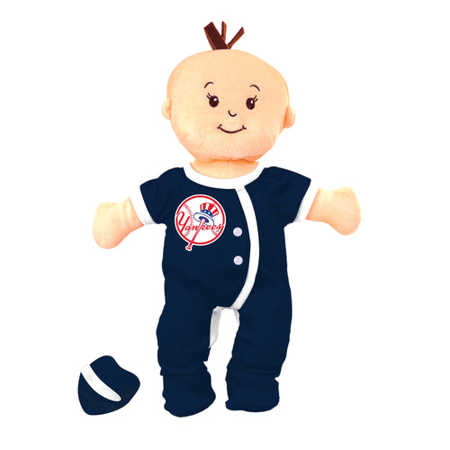 NY Yankees Wee Baby Fan Doll