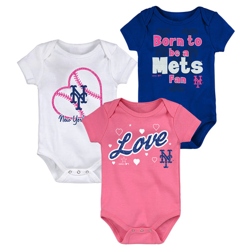 NY Mets Baby Girl Clothing