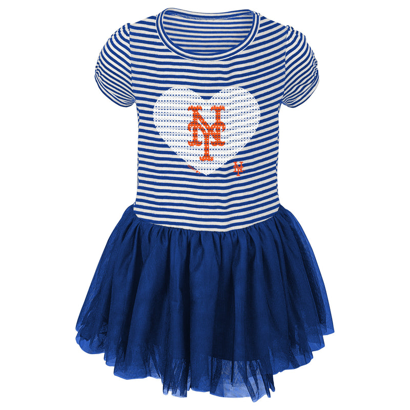NY Mets Toddler Dress
