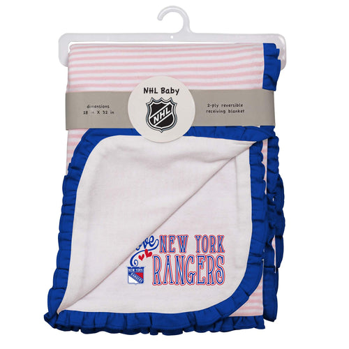 Rangers Girl Newborn Blanket