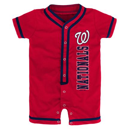 Nationals Infant Short Sleeve Coverall