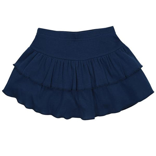 Baby Girl Navy Sporty Skort