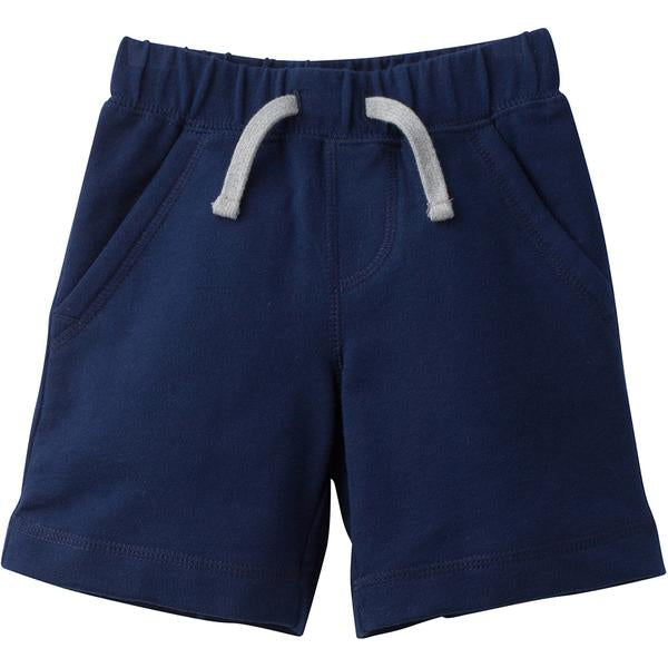Infant and Toddler Boys Navy French Terry Cotton Shorts