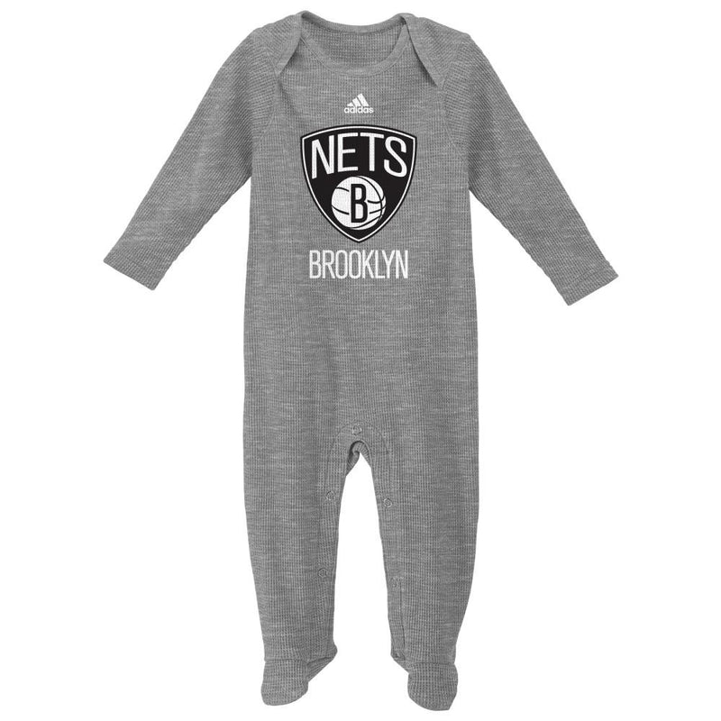 Nets Basketball Newborn Thermal Coverall