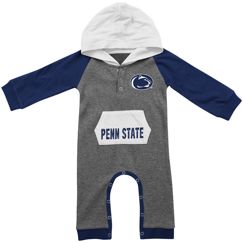 Penn State Thermal Hooded Romper
