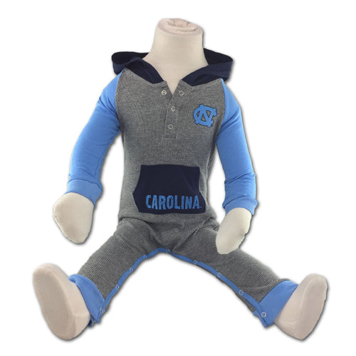 UNC Thermal Hooded Romper