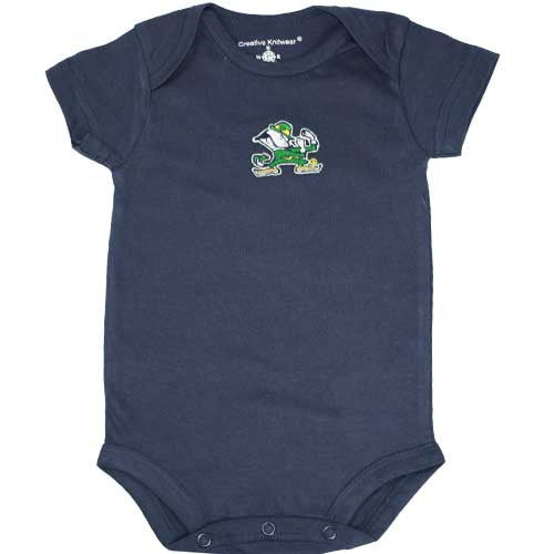 Notre Dame Navy Body Suit