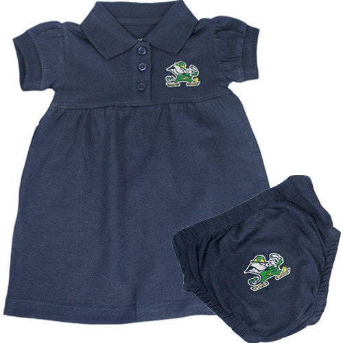 Notre Dame Polo Dress with Embroidered Bloomers